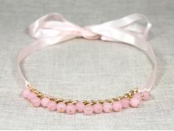 Колье с розовыми бусинами от Victory Bijoux